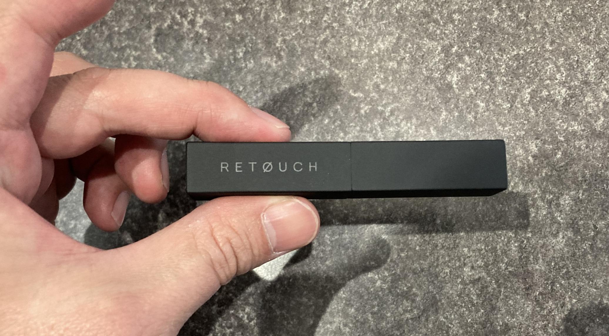 RETOUCH(レタッチ)リップクリームのレビュー|今話題のメンズ用リップ