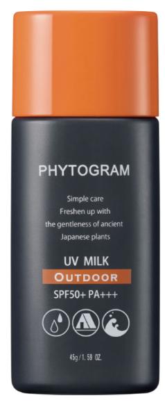 フィトグラム『UVミルク』のレビュー&口コミ|メンズ向け日焼け止めクリーム